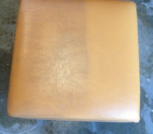 Leather Cleaning 'Massimo' - Sample 1