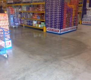 STG 'BWG Foods' Concrete Polishing