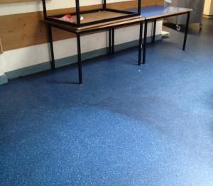 STG 'Dublin Fire Station' - Mess Floor Sample