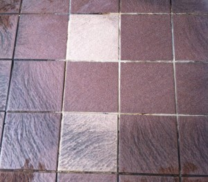 STG 'Mountjoy Prision' Washroom Floor - Sample