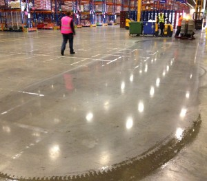 STG 'Tesco Distribution' - Polished Concrete